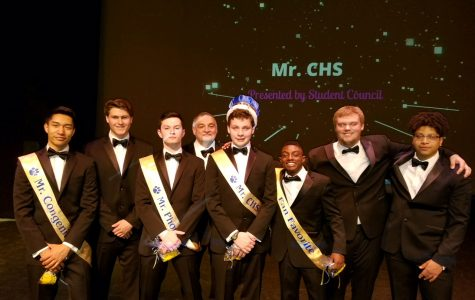 Seniors Strut Their Stuff at Mr. CHS