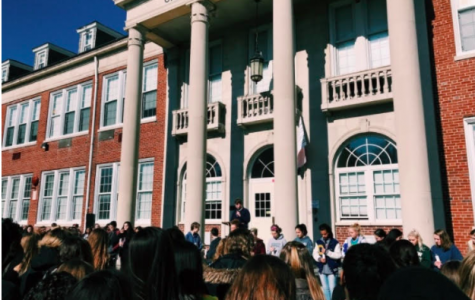 Cranford High School Students Participate in the Nation-Wide Walkout