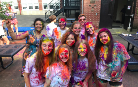 CHS Global Affairs Institute Holds Holi Festival