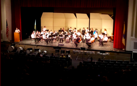 Concert Band Wows with 2018 Spring Concert